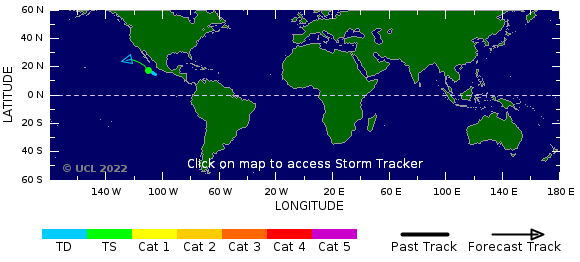 Storm Tracker Global Map